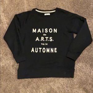 Madewell pull over sweatshirt size S WORN ONCE!